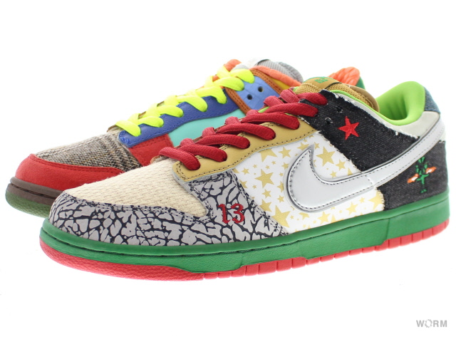 release date 95ee4 23ee0 NIKE SB WHAT THE DUNK 318,403-141 white college blue-chrm-dp ...