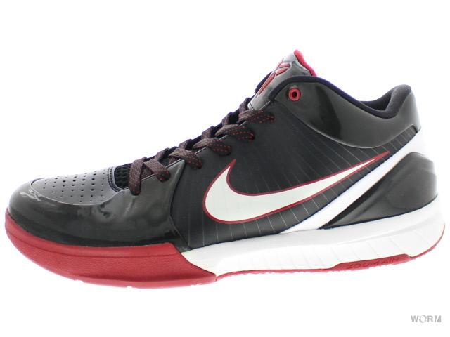quality design 3c117 06d13 NIKE ZOOM KOBE IV 344,335-012 black white-varsity red Nike zoom Corby 4  unused article