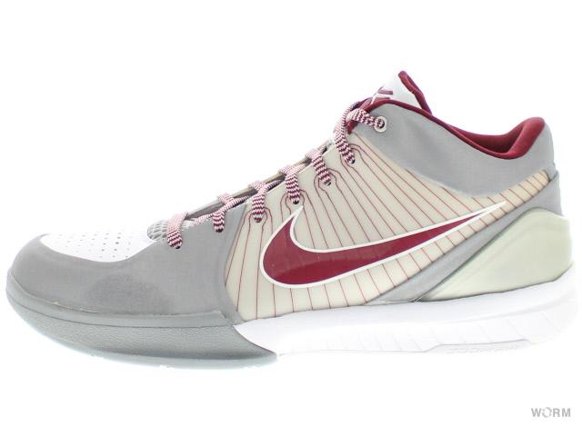 sports shoes ecf77 ee074 NIKE ZOOM KOBE IV 344,335-061 mtllc slvr tm r(lower merion) ...