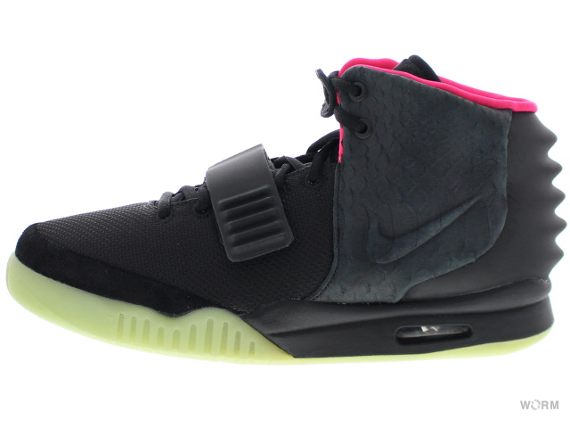 separation shoes b7bed 92658 NIKE AIR YEEZY 2 NRG 508,214-006 black black-solar red Nike air ...