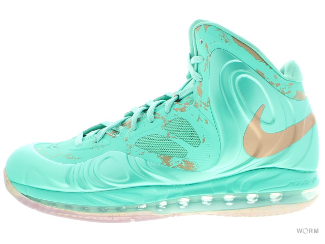 NIKE AIR MAX HYPERPOSITE 524862-301 crystal mint/mtlc coppercoin ナイキ エア マックス ハイパーポジット 未使用品【中古】