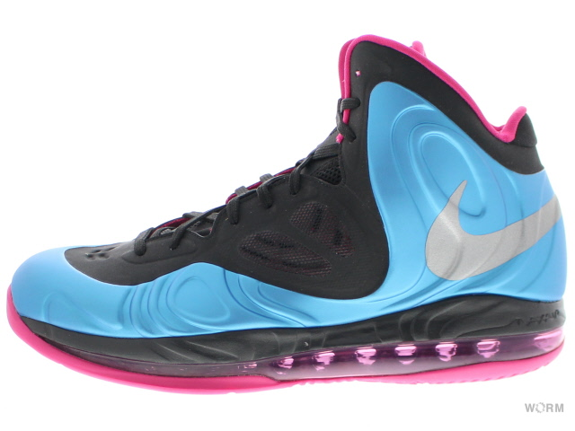 NIKE AIR MAX HYPERPOSITE 524862-400 dynamic blue/rflct slvr-frbrry ナイキ エア マックス ハイパーポジット 未使用品【中古】