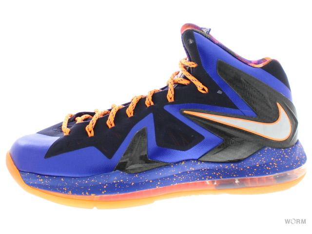 on sale 39d02 6b8b8 NIKE LEBRON X P.S. ELITE 579,827-400 hypr bl pr pltnm-blcknd bl-brg Nike  Revlon 10 elite-free article