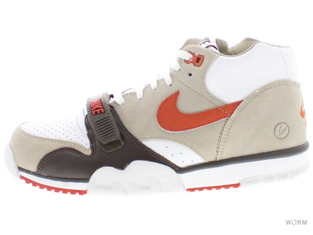 67583bf0cb1 NIKE AIR TRAINER 1 MID SP   FRAGMENT 806942-282 chino rust-baroque  brown-white air trainer unread items