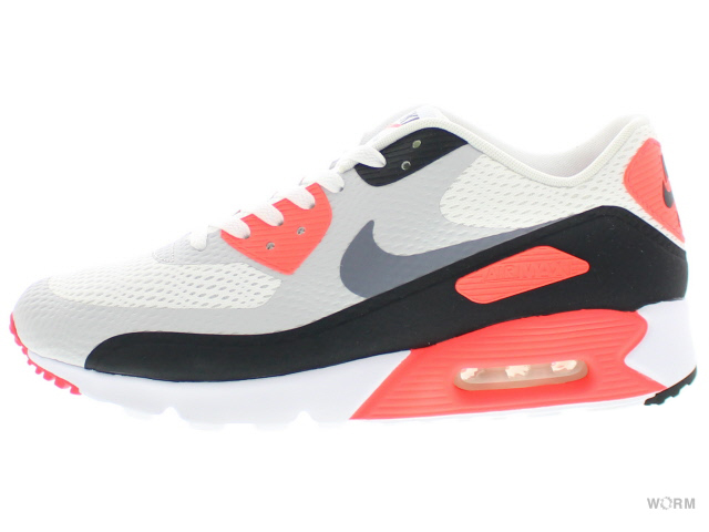 reputable site c1806 0a7bd NIKE AIR MAX 90 ULTRA ESSENTIAL 819,474-106 white cool grey-infrared- ...