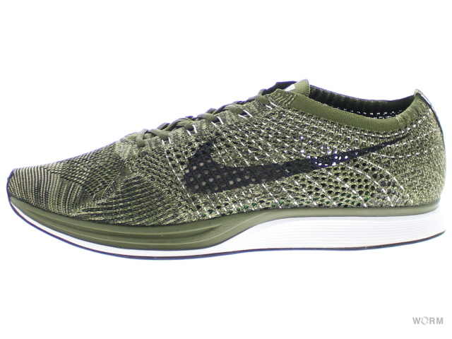 site réputé e7017 8dad0 NIKE FLYKNIT RACER 862,713-300 rough green/black Nike fried food knit  racer-free article