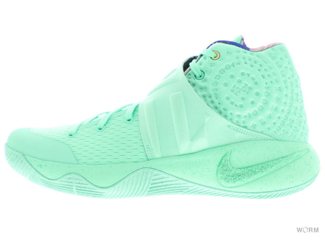 NIKE KYRIE 1 WHAT THE EP 914679-300 green glow/green glow ナイキ カイリー 未使用品【中古】