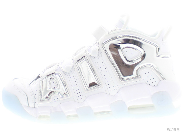 online retailer 9e2d3 ee146 W NIKE AIR MORE UPTEMPO 917,593-100 whitechrome-blue tint women Nike air  more up tempo-free article