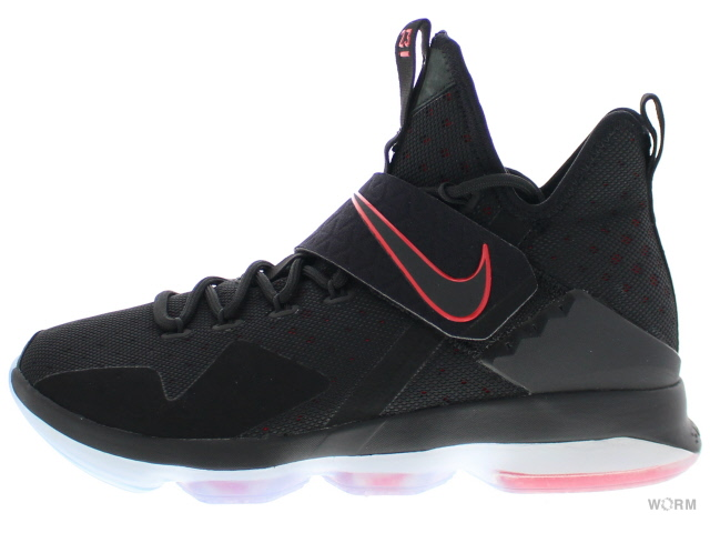 NIKE LEBRON XIV EP 921084-004 black/black-university red ナイキ レブロン 14 未使用品【中古】