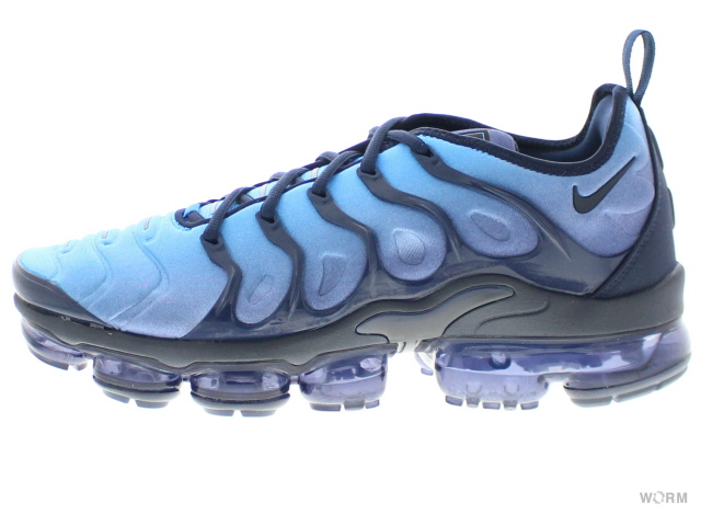 11c7194564 NIKE AIR VAPORMAX PLUS 924,453-401 obsidian/obsidian-photo blue Nike air  vapor ...