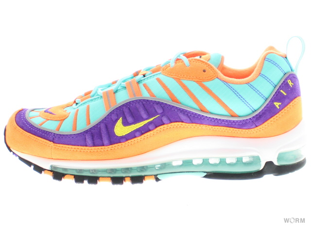 new arrival 4c161 6124f NIKE AIR MAX 98 QS 924,462-800 cone/tour yellow-hyper grape Kie Ney  AMAX-free article