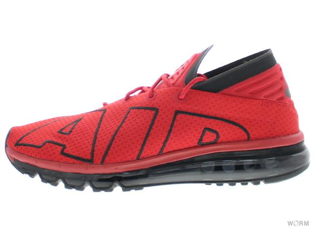 NIKE AIR MAX FLAIR 942236-600 gym red/white-black ナイキ エア マックス フレア 未使用品【中古】
