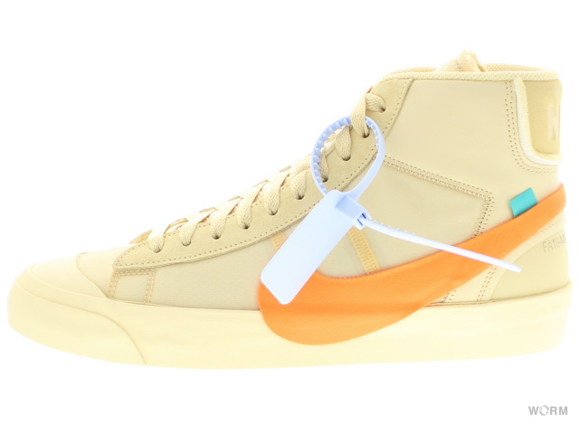 new styles 1e3ed 31c00 shopping the 10nike blazer mid off white aa3832 700 canvas total orange  nike blazer mid off