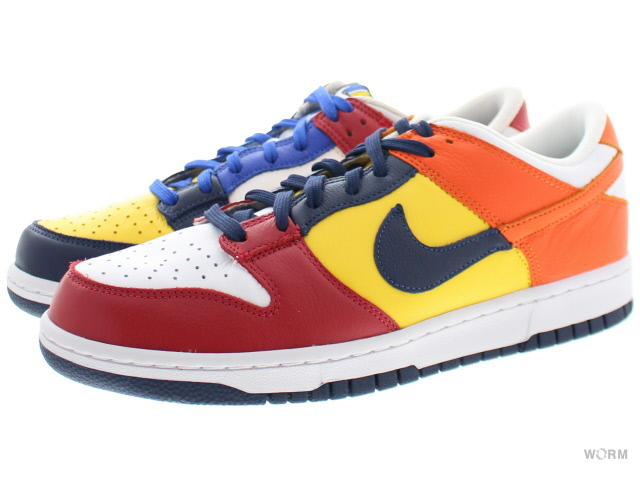 NIKE DUNK LOW JP QS aa4414-400 midnight navy/varsity maize ナイキ ダンク ロウ 未使用品【中古】