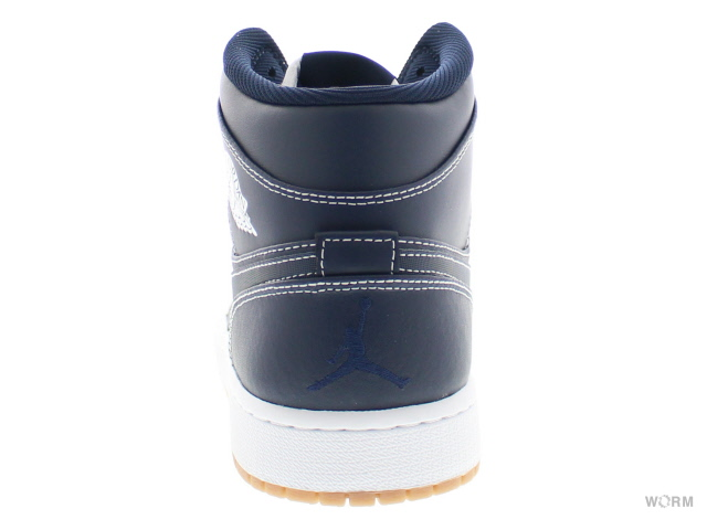the best attitude 03836 1e5ad AIR JORDAN 1 MID RE2PECT ah6342-402 obsidian white-gum light brown  エアジョーダンミッドリスペクト-free article