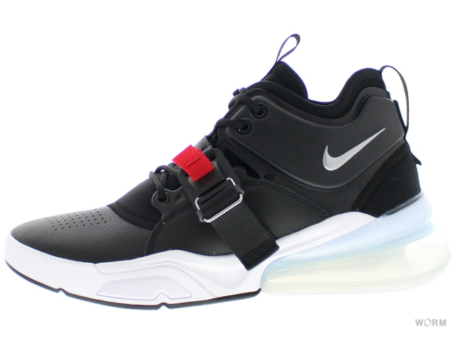 8db0965ef2b2 NIKE AIR FORCE 270 ah6772-001 black metallic silver-white Nike air force-free  article