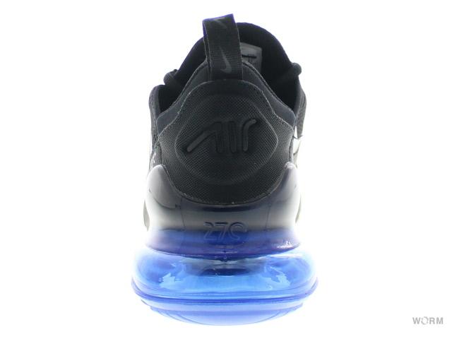 the best attitude 13815 ba205 ... NIKE AIR MAX 270 ah8050-009 black/black/coal black/racing blue