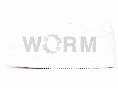 耐克空軍 1 306901-111 白色/白色空軍未讀的專案