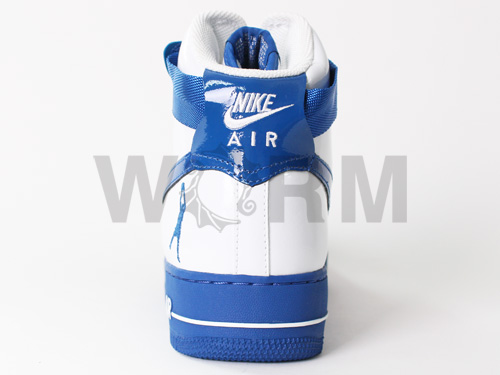 1 307,722-141 NIKE AIR FORCE SHEED white/blue jay air force high-free article