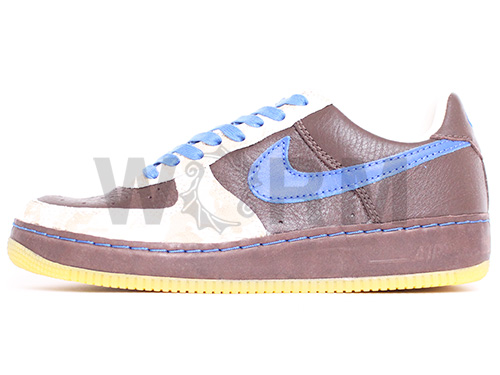 NIKE AIR FORCE 1 INSIDE/OUT 313318-241 baroque brown/varst royal-sail air force unread items