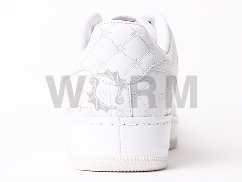 "NIKE AIR FORCE 1 LOW SUPREME I/O""MICHAEL LAU""349538-111 white/white空軍未使用的物品"