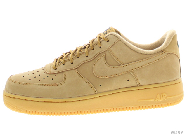 Article WB aa4061 200 flaxflax gum light brown air force free in NIKE AIR FORCE 1 '07