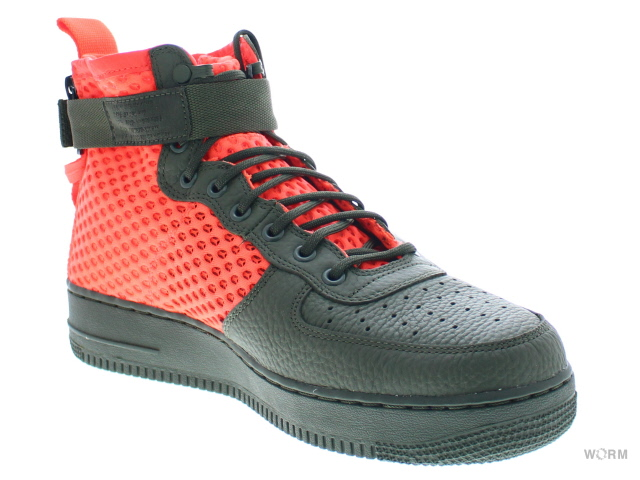 cd6939ad4a1a9a NIKE SF AF1 MID QS aa7345-300 cargo khaki total crimson air force mid-free  article