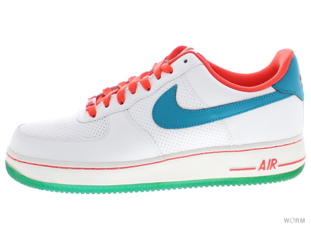 Article 315,122-179 white/glass blue-max orange air force-free in NIKE AIR FORCE 1 '07