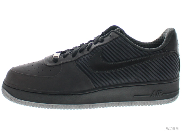 【US11】NIKE AIR FORCE 1 PREMIUM '07 315180-003 anthracite/black-mtllc silver エアフォース 未使用品【中古】