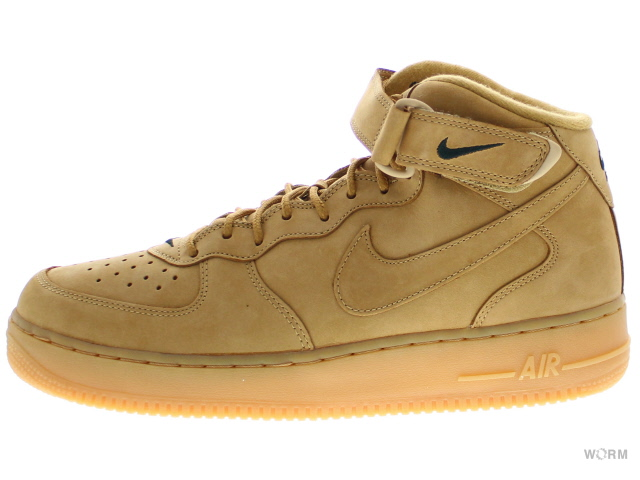 low priced e03ee bfc34 NIKE AIR FORCE 1 MID ' 07 PRM QS 715889-200 flax/flax-outdoor green air  force mid unread items