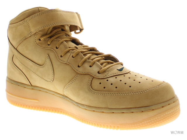 NIKE AIR FORCE 1 MID ' 07 PRM QS 715889 200 flaxflax outdoor green air force mid unread items