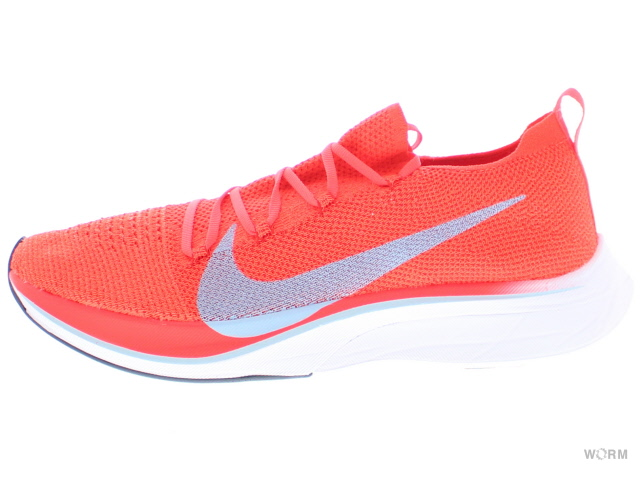 018199fbb03a6 WORM TOKYO  NIKE VAPORFLY 4% FLYKNIT aj3857-600 bright crimson ice blue  Nike zoom fly fly knit-free article