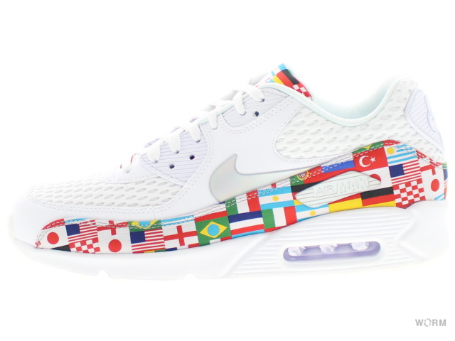 Nike Air Max 90 NIC QS (White Multi Color) | asphaltgold
