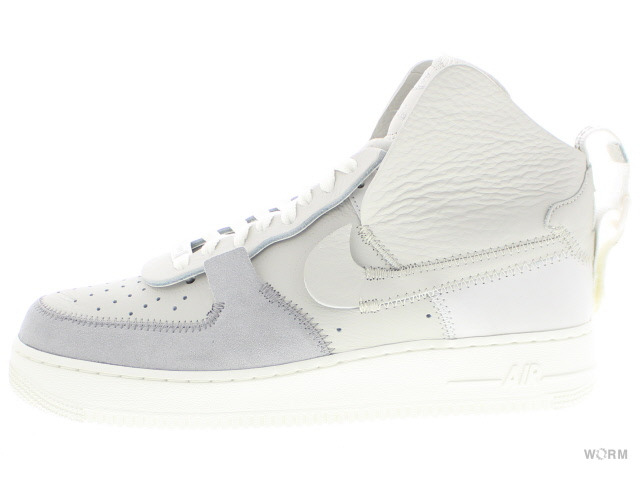 NIKE AIR FORCE 1 HIGH PSNY ao9292-001 matte silver/light bone-sail ナイキ エア フォース ハイ 未使用品【中古】