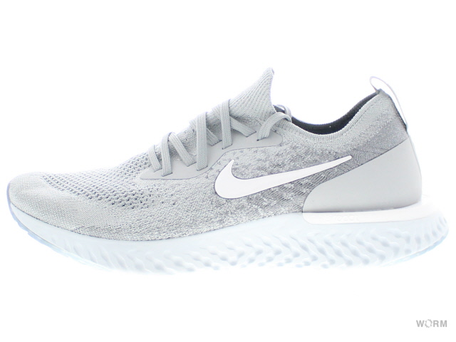0bbbc67bddd5 NIKE EPIC REACT FLYKNIT aq0067-002 wolf grey white-cool grey Kie Ney pick  re-act fly knit-free article