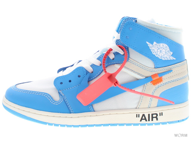Air Jordan 1 x OFF WHITE NRG (WhiteDK Powder Blue Cone