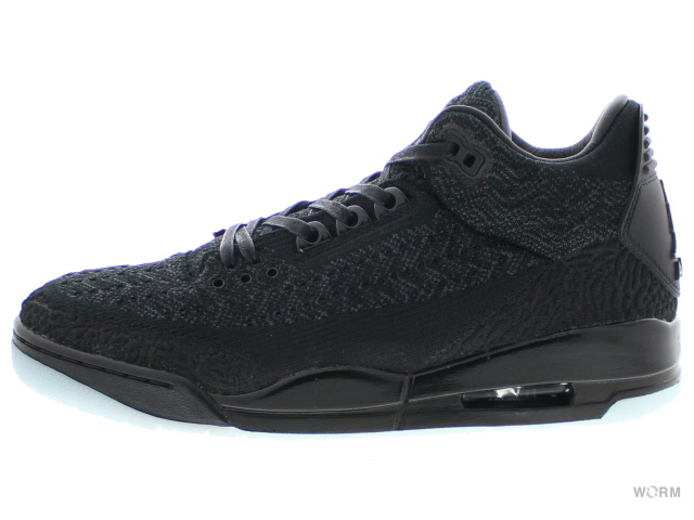 88a0a2cca8fe5 AIR JORDAN 3 RETRO FLYKNIT aq1005-001 black black-anthracite Air Jordan  nostalgic fried food knit-free article