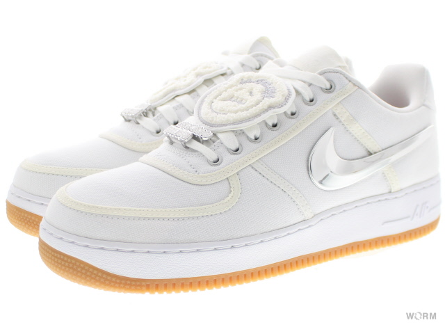 finest selection d23ad f0877 NIKE AIR FORCE 1 LOW TRAVIS SCOTT aq4211-100 white/white-white Nike air  force low Travis Scot-free article