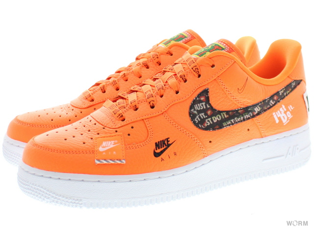 pretty nice da76a 73585 NIKE AIR FORCE 1  07 PRM JDI ar7719-800 total orange total orange Nike air  force premium-free article