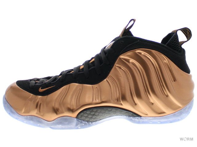 finest selection 69d0c e7b71 NIKE AIR FOAMPOSITE ONE 314,996-007 black metallic copper-black  エアフォームポジット-free article