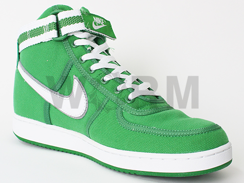NIKE VANDAL CANVAS HIGH 315066-311 classic green/white-met silver bandaru未使用品
