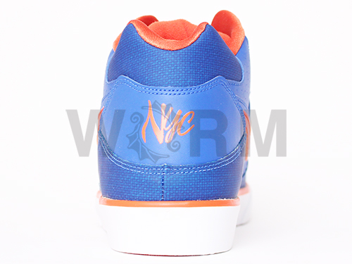 NIKE AUTO FORCE 180 MID QK LE 375755-481 varsity royal/team orange-wht自動力量中間未使用的物品