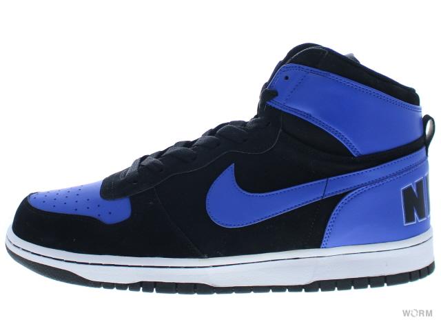 NIKE BIG NIKE HIGH 336608 042 blackvarsity royal white big Nike unread items