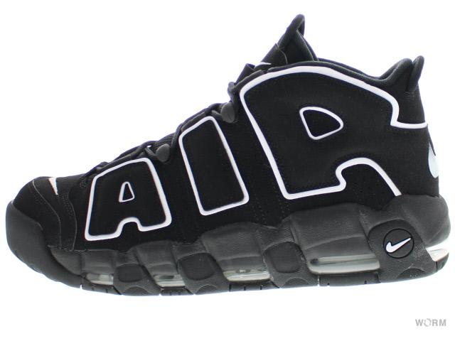 【US13】NIKE AIR MORE UPTEMPO 414962-002 black/white-black ナイキ エア モア アップテンポ 未使用品【中古】