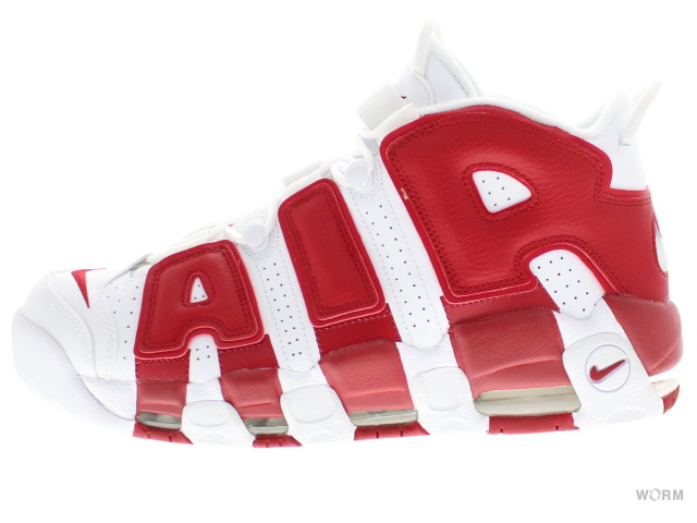 NIKE AIR MORE UPTEMPO 414962-100 white/white-gym red air more uptempo  unread items