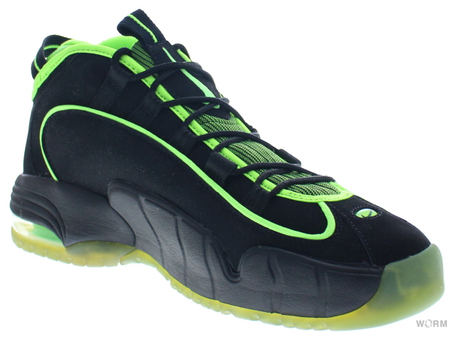 5492139eb3 【US10.5】NIKE AIR MAX PENNY 05 HOH 438793-033 black/electric green エア マックス  ペニー 未使用品【中古】