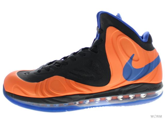 【US11】NIKE AIR MAX HYPERPOSITE 524862-800 orange blaze/game royal-black エア マックス ハイパーポジット 未使用品【中古】