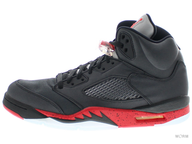 photos officielles e6574 35828 AIR JORDAN 5 RETRO 136,027-006 noir/universite rouge Air Jordan retro-free  article
