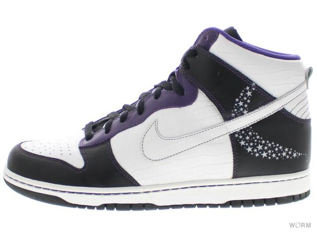 NIKE DUNK HIGH PREMIUM 312786 011 black white quasar purple ナイキ ダンク ハイ プレミアム 未使用品xCQtsrdBh