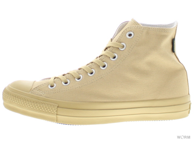 CONVERSE ALL STAR 100 G-TEX MN HI beige コンバース オール スター 未使用品【中古】
